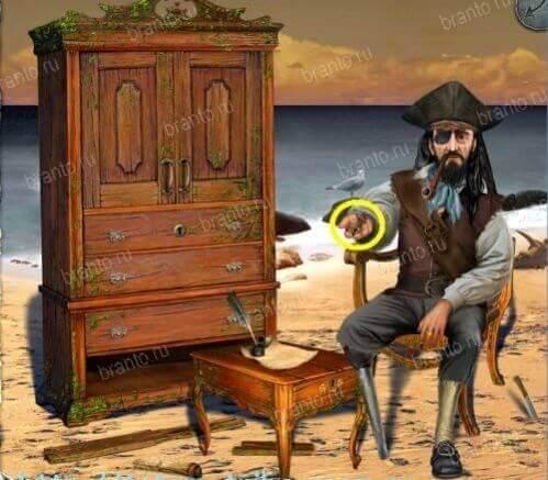Проклятие пирата - прохождение игры