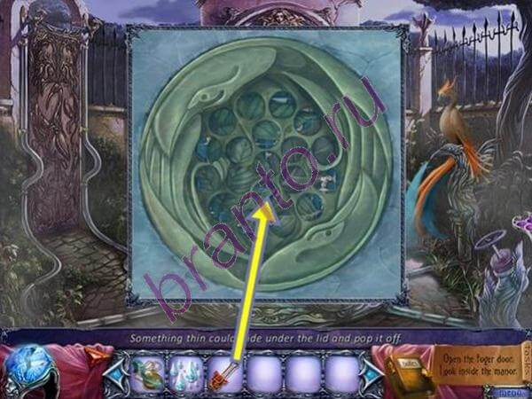 Прохождение игры Расколотое проклятие: Кровавый Рубин