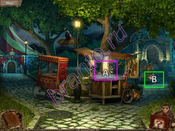 Таинственный парк: Разбитая пластинка - прохождение игры